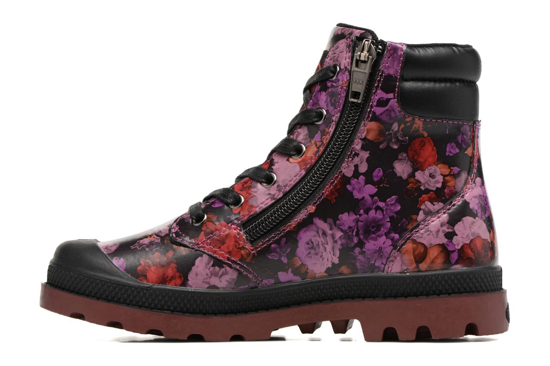 Bottines et boots Palladium Wendy Flo K Rose vue face