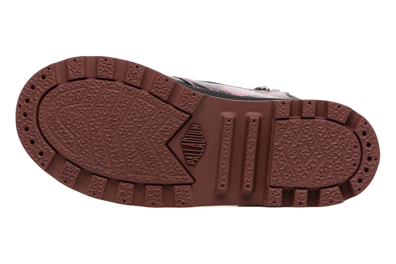 Bottines et boots Palladium Wendy Flo K Rose vue haut