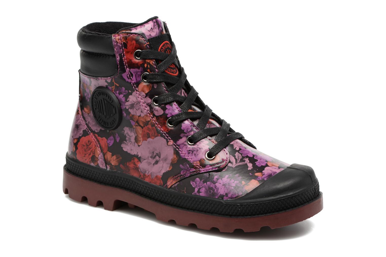 Bottines et boots Palladium Wendy Flo K Rose vue détail/paire