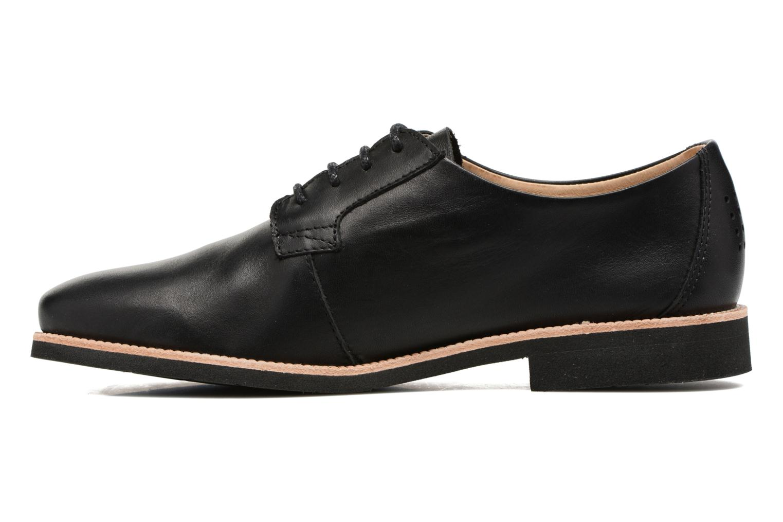 Chaussures à lacets TBS Farrah  3 Noir vue face