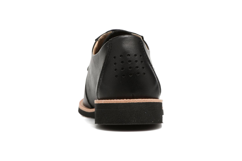 Chaussures à lacets TBS Farrah  3 Noir vue droite