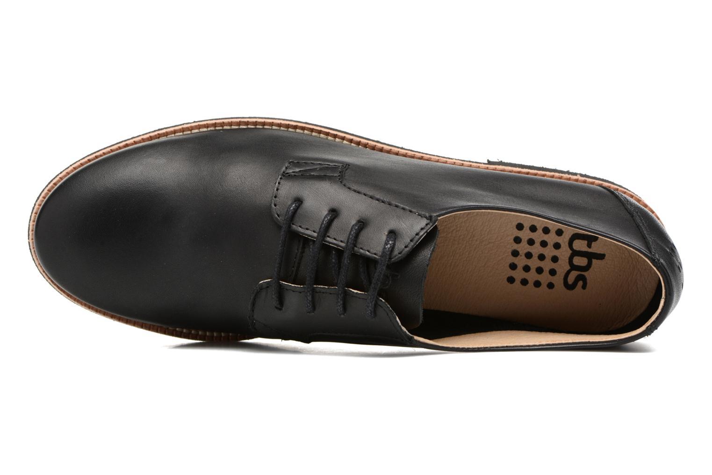 Chaussures à lacets TBS Farrah  3 Noir vue gauche