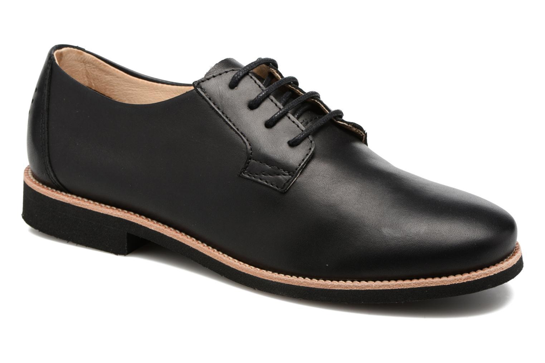 Chaussures à lacets TBS Farrah  3 Noir vue détail/paire