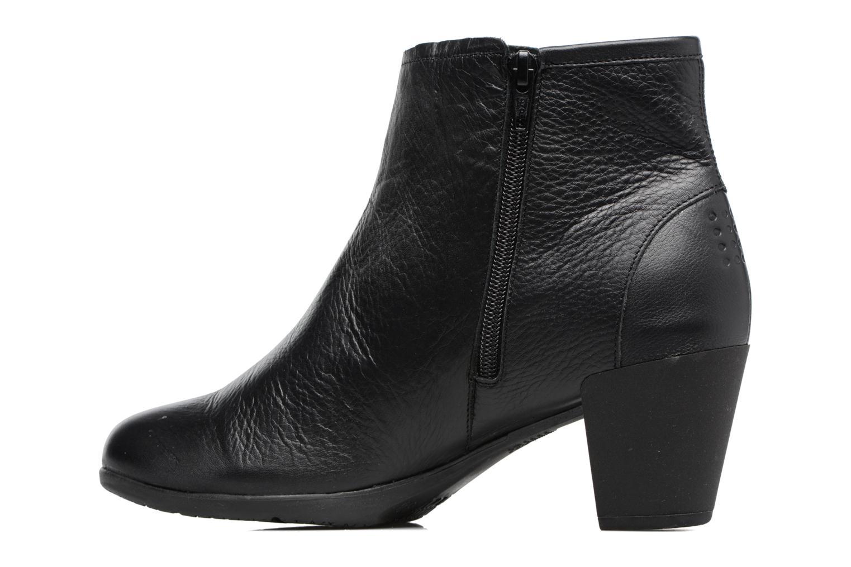 Boots en enkellaarsjes TBS Kristie Zwart voorkant