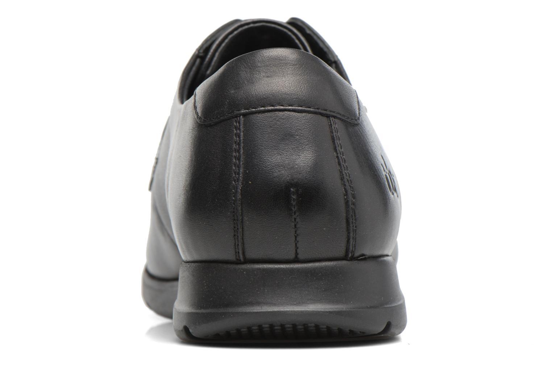 Chaussures à lacets TBS Riderss Noir vue droite