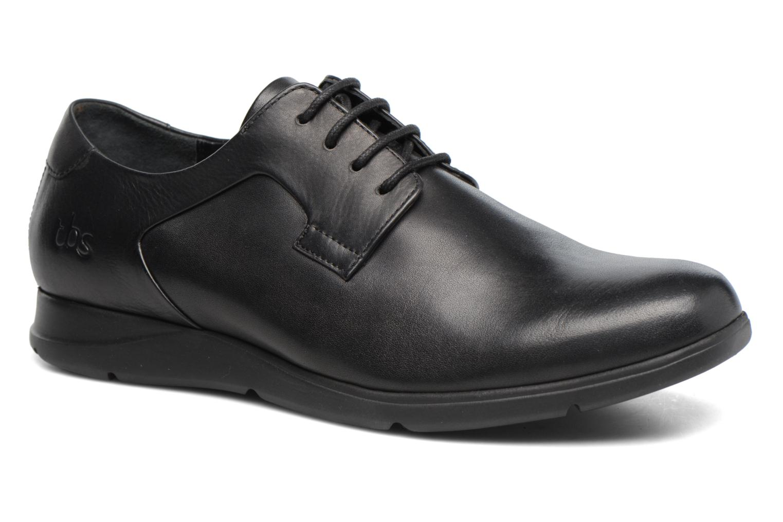 Chaussures à lacets TBS Riderss Noir vue détail/paire