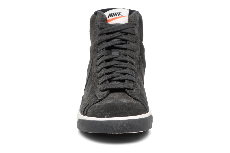 Wmns Blazer Mid Vntg Suede Anthracite/Black-Ivory-Gum Med Brown