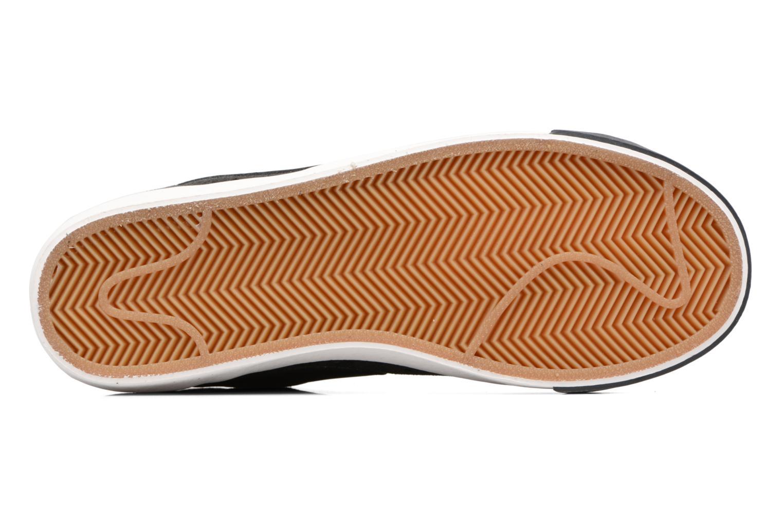 Baskets Nike Wmns Blazer Mid Vntg Suede Gris vue haut
