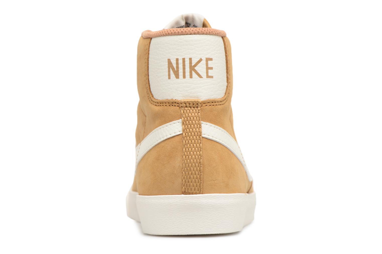 Sneaker Nike Wmns Blazer Mid Vntg Suede braun ansicht von rechts