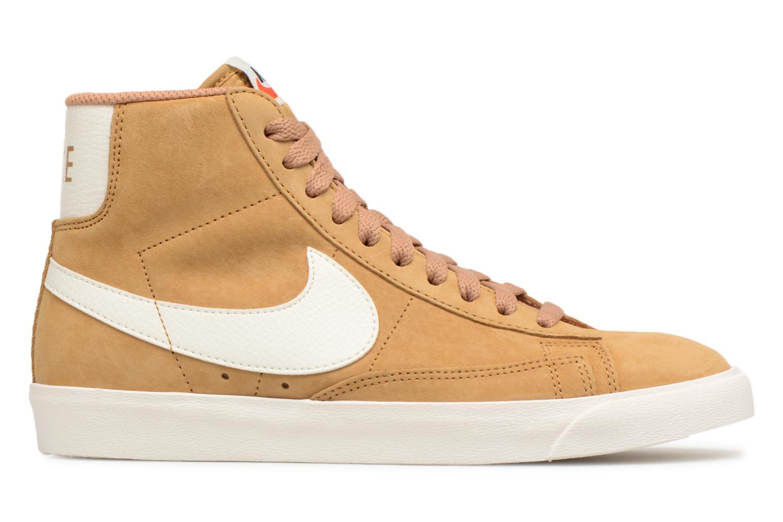 Sneaker Nike Wmns Blazer Mid Vntg Suede braun ansicht von hinten
