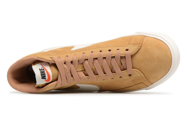 Sneaker Nike Wmns Blazer Mid Vntg Suede braun ansicht von links