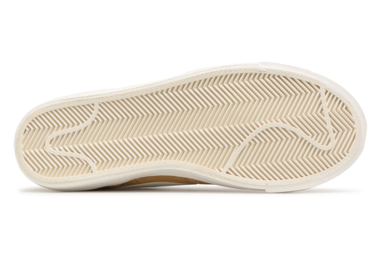 Baskets Nike Wmns Blazer Mid Vntg Suede Marron vue haut
