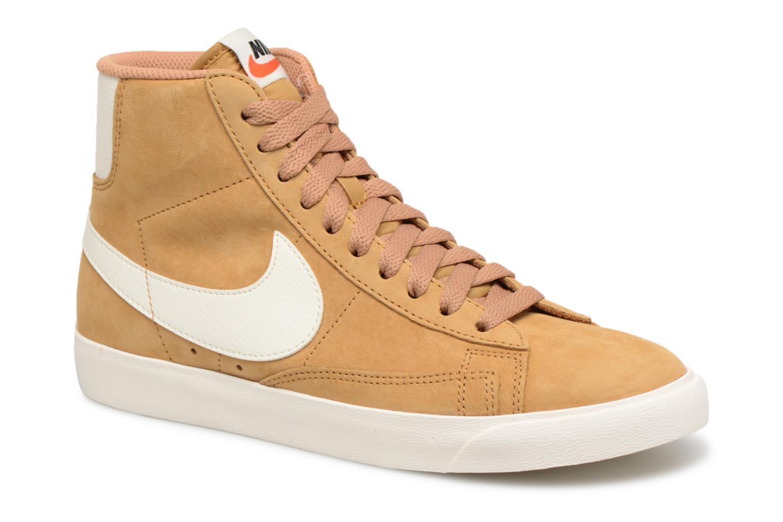 Baskets Nike Wmns Blazer Mid Vntg Suede Marron vue détail/paire
