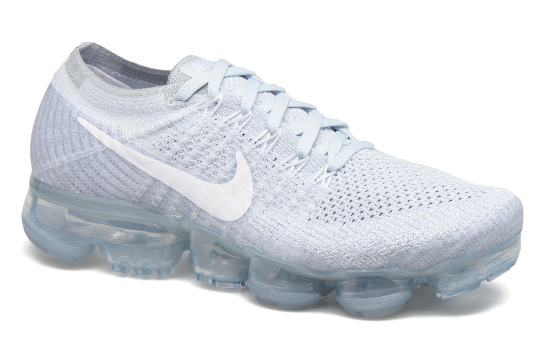 Chaussures de sport Nike Wmns Nike Air Vapormax Flyknit Bleu vue détail/paire
