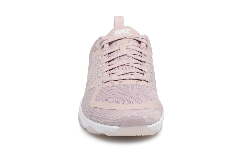 Sportschuhe Nike Wmns Nike Air Zoom Fitness rosa schuhe getragen