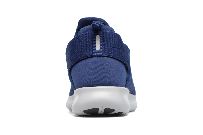 Chaussures de sport Nike Nike Free Rn Cmtr 2017 Bleu vue droite