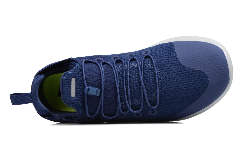 Chaussures de sport Nike Nike Free Rn Cmtr 2017 Bleu vue gauche