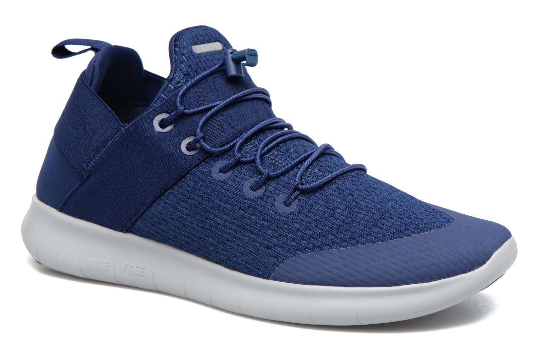 Chaussures de sport Nike Nike Free Rn Cmtr 2017 Bleu vue détail/paire
