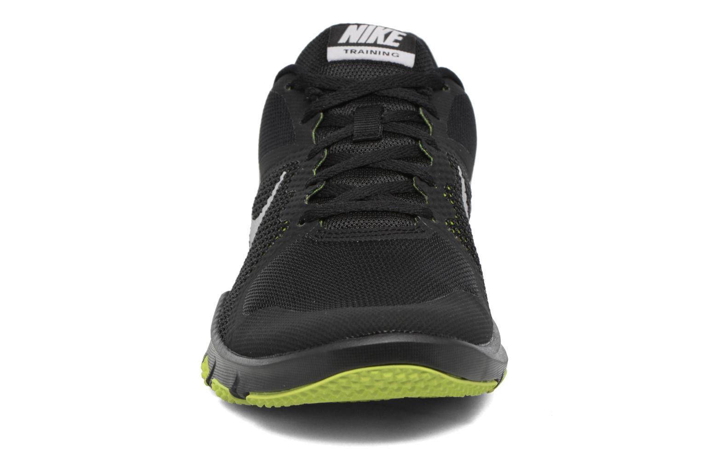 Chaussures de sport Nike Nike Flex Control Jaune vue portées chaussures