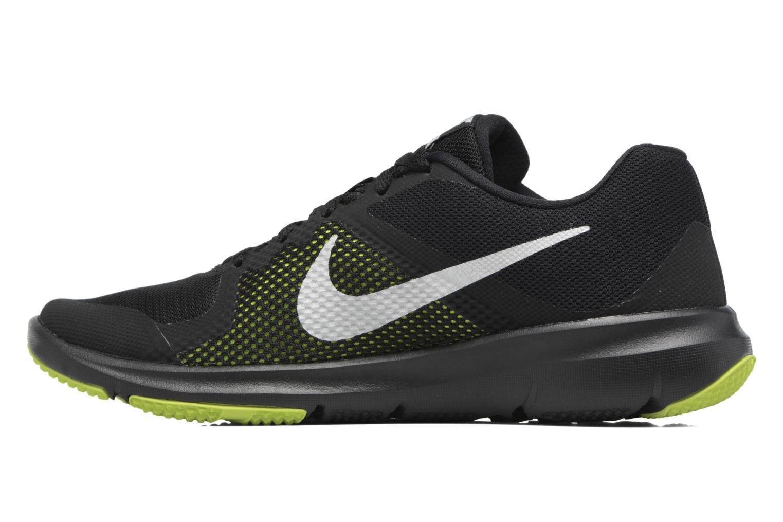 Chaussures de sport Nike Nike Flex Control Jaune vue face