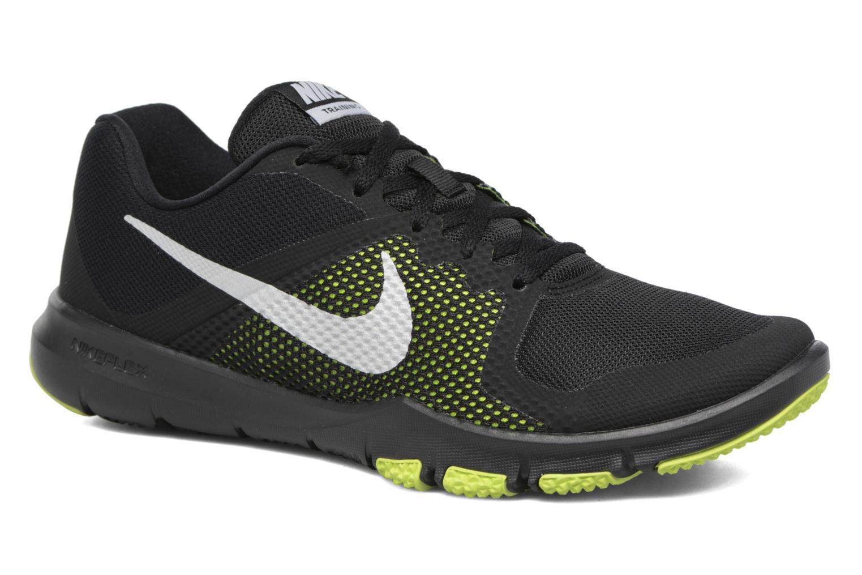 Nike Flex Control Black/Metallic Silver-Volt