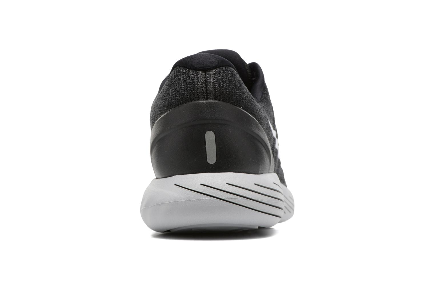 Sport shoes Nike Nike Lunarglide 9 Grey view from the right