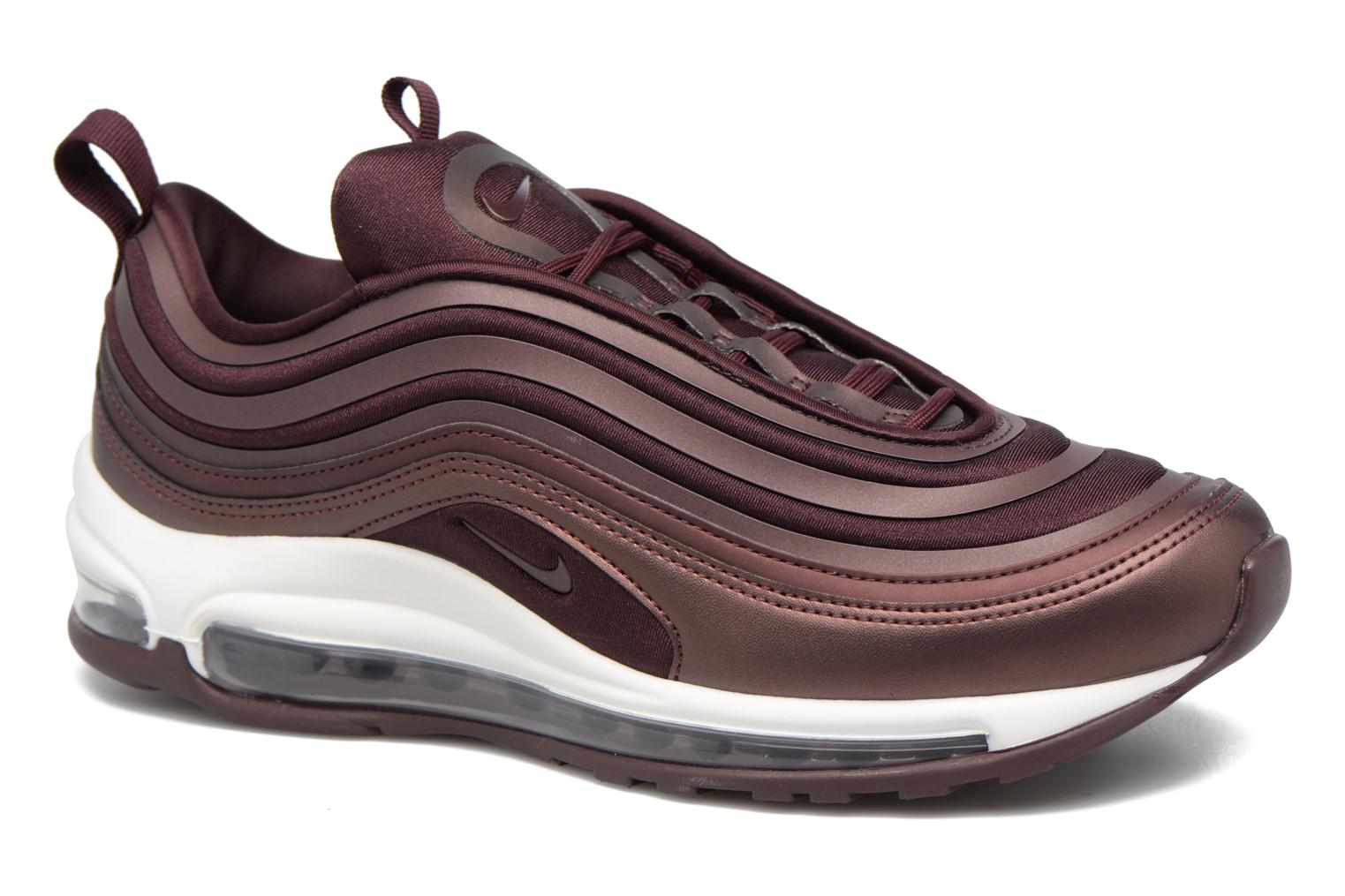 Baskets Nike W Air Max 97 Ul '17 Bordeaux vue détail/paire