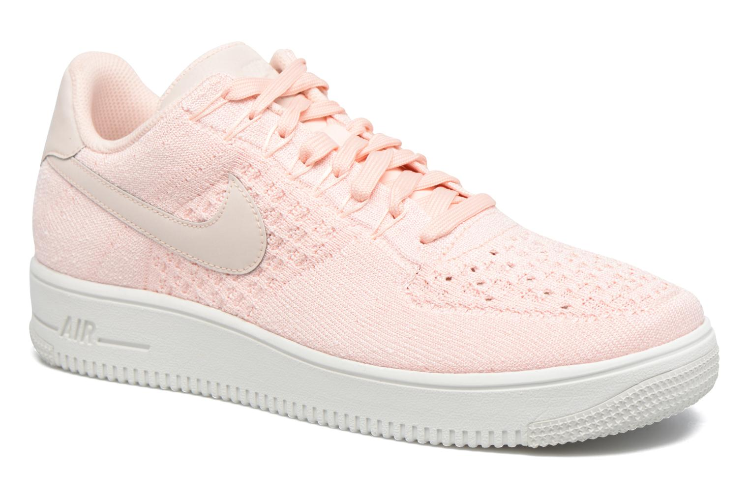 Baskets Nike Af1 Ultra Flyknit Low Rose vue détail/paire