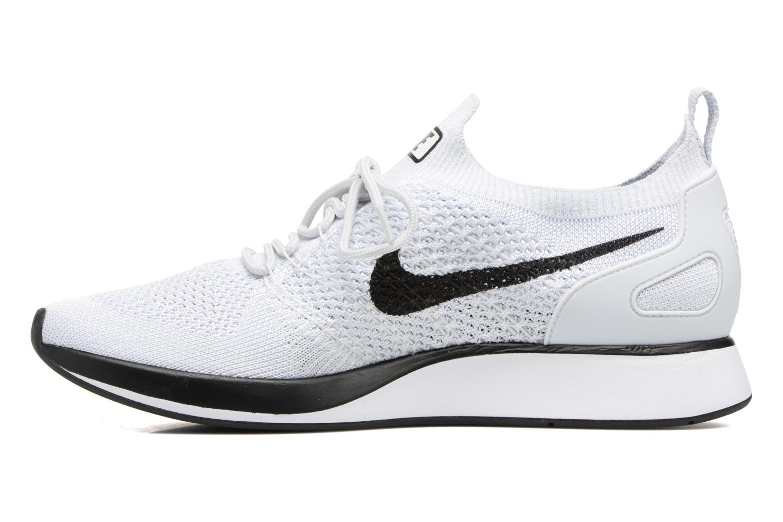 Baskets Nike Air Zoom Mariah Flyknit Racer Blanc vue face