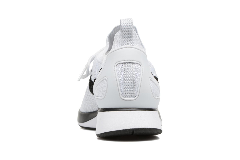 Baskets Nike Air Zoom Mariah Flyknit Racer Blanc vue droite