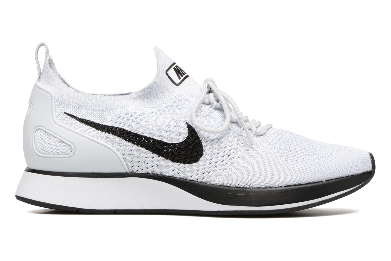 Baskets Nike Air Zoom Mariah Flyknit Racer Blanc vue derrière