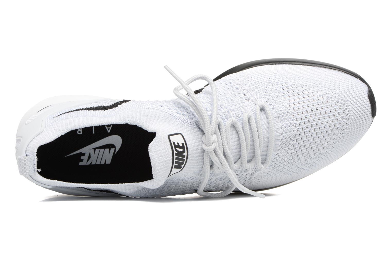 Baskets Nike Air Zoom Mariah Flyknit Racer Blanc vue gauche