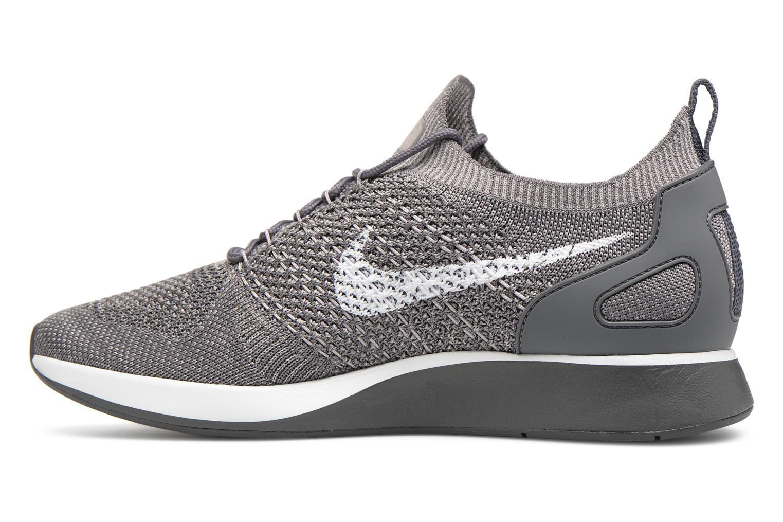 Sneakers Nike Air Zoom Mariah Flyknit Racer Grijs voorkant