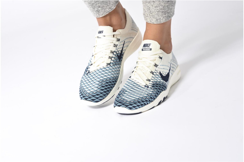 Wmns Nike Free Tr Fk 2 Indigo Sail/College Navy-Cerulean