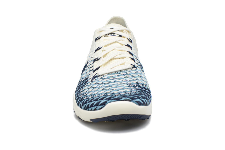 Scarpe sportive Nike Wmns Nike Free Tr Fk 2 Indigo Multicolore modello indossato