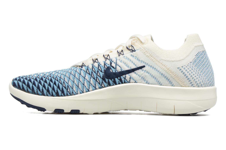 Scarpe sportive Nike Wmns Nike Free Tr Fk 2 Indigo Multicolore immagine frontale