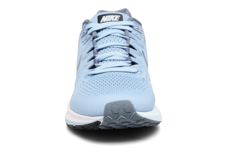Sportschuhe Nike W Nike Air Zoom Structure 21 blau schuhe getragen