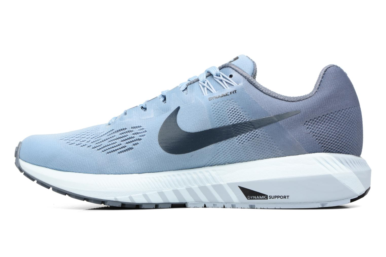 Chaussures de sport Nike W Nike Air Zoom Structure 21 Bleu vue face