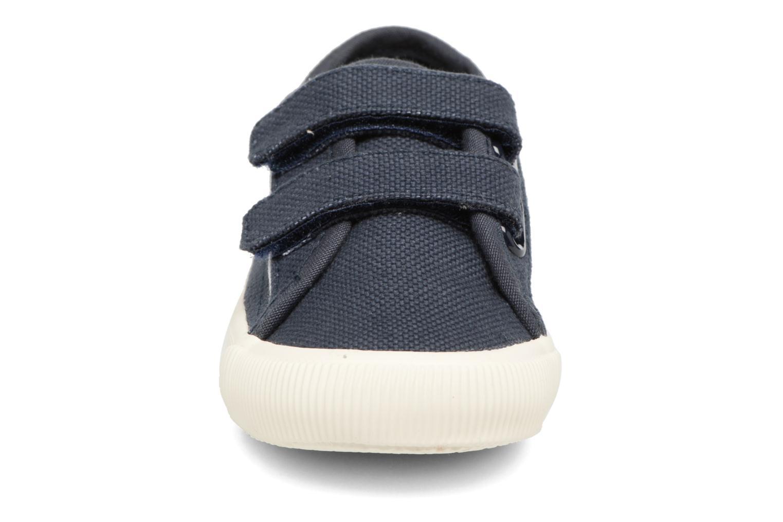 Baskets Faguo Birch Velcro Bleu vue portées chaussures