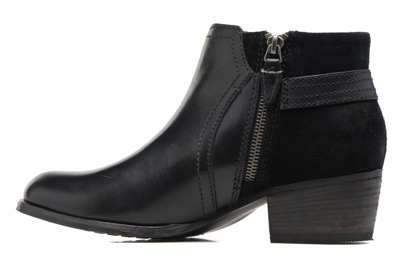 Bottines et boots Clarks Maypearl Lilac Noir vue face
