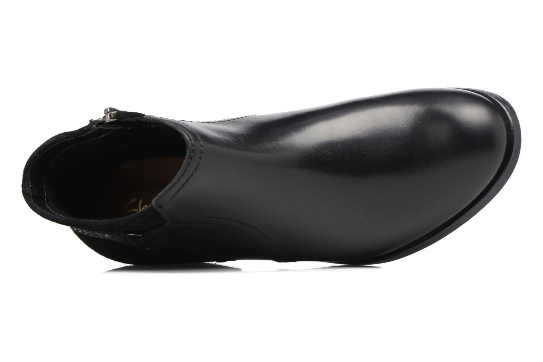 Bottines et boots Clarks Maypearl Lilac Noir vue gauche