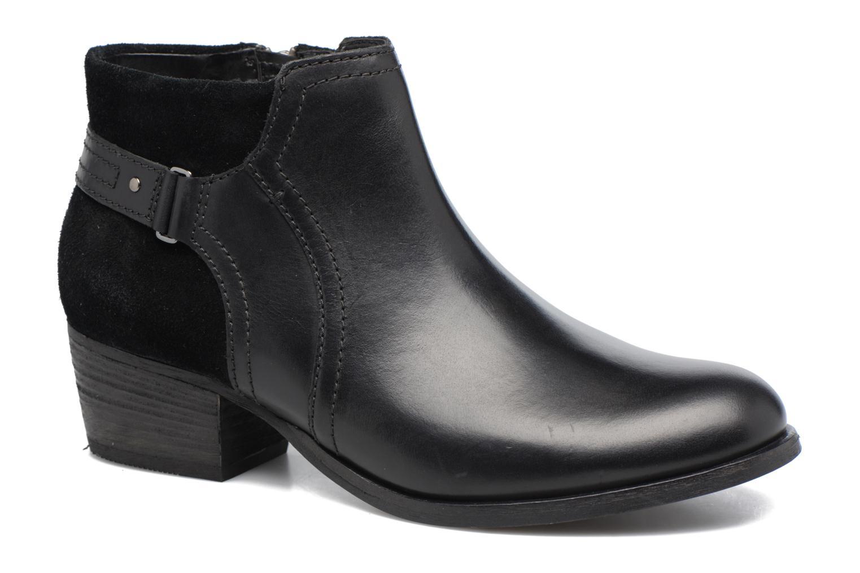 Bottines et boots Clarks Maypearl Lilac Noir vue détail/paire