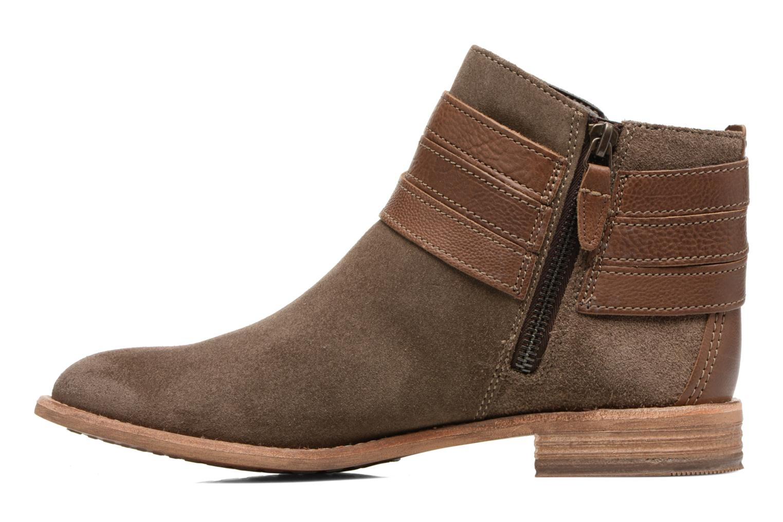 Bottines et boots Clarks Maypearl Edie Marron vue face