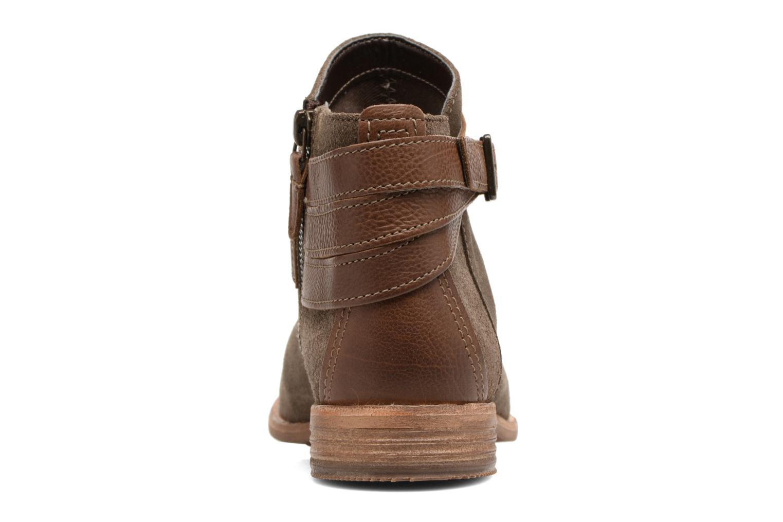 Bottines et boots Clarks Maypearl Edie Marron vue droite