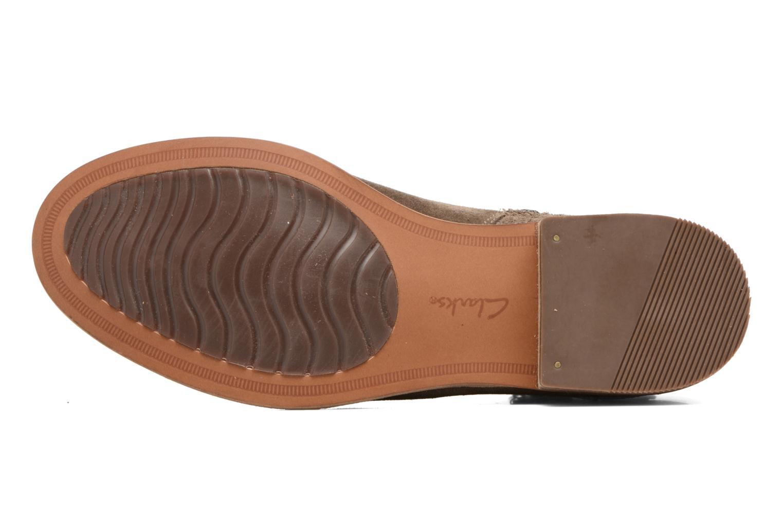 Bottines et boots Clarks Maypearl Edie Marron vue haut