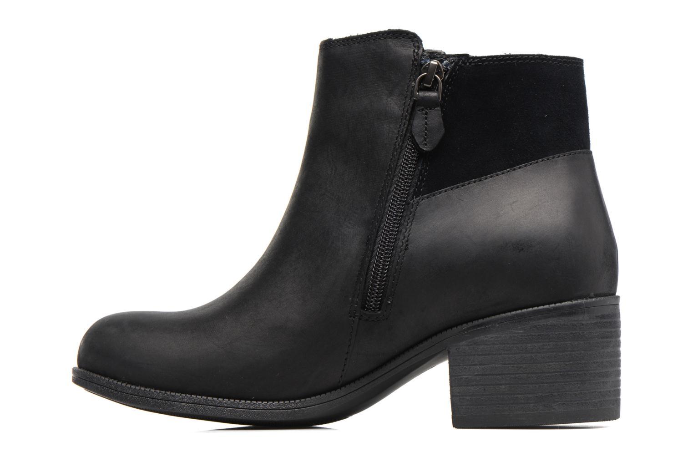 Bottines et boots Clarks DevreeViolaGTX Noir vue face