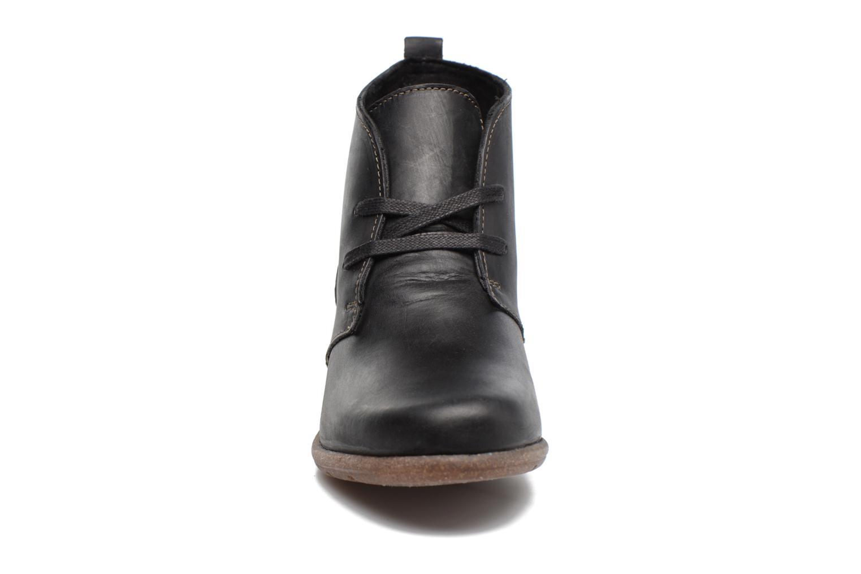 Bottines et boots Clarks Wilrose Sage Noir vue portées chaussures