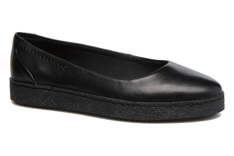 Lillia Petal Black leather
