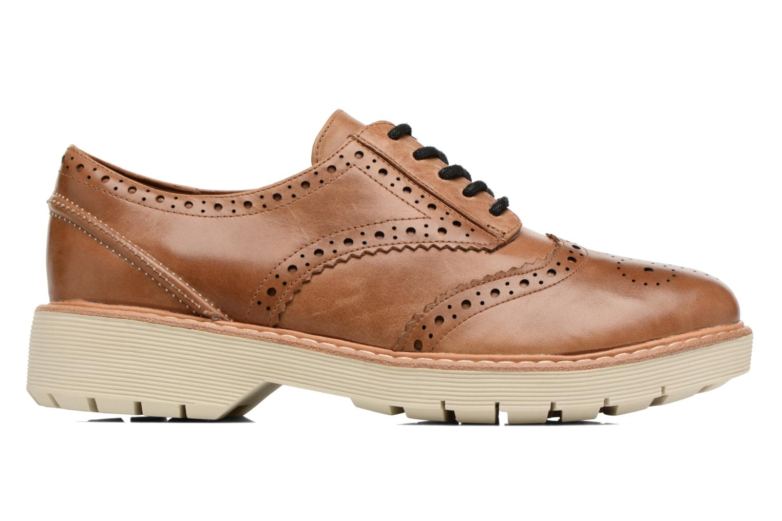 Lace-up shoes Clarks Witcombe Echo Brown view from the left