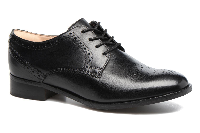 Grandes descuentos últimos zapatos Clarks Netley Rose (Negro) - Zapatos con cordones Descuento